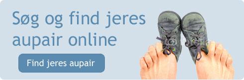 Søg aupair online